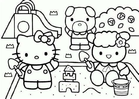 imagenes para colorear hello kitty dibujos para colorear de hello kitty 11 dibujos para