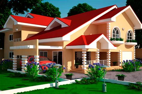 ghana home plans house plans ghana 3 4 5 6 bedroom house plans in ghana