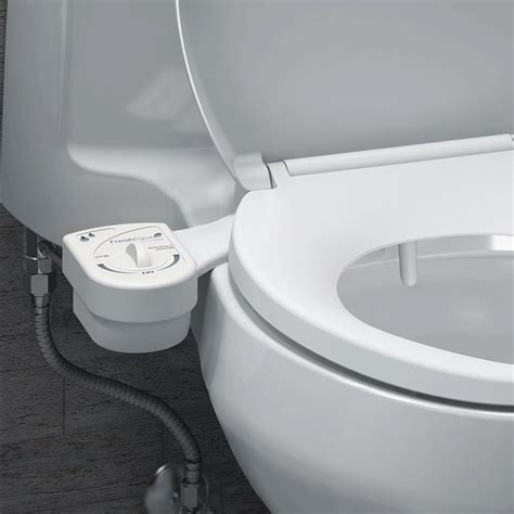 bidet in use brondell freshspa easy bidet toilet attachment bidet