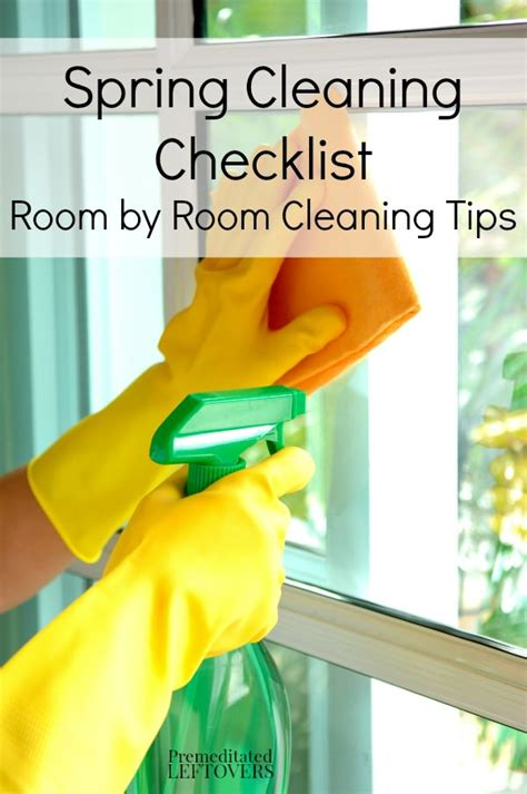 spring cleaning checklist room by room spring cleaning tips with room by room checklist thinkhom