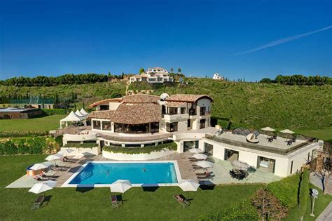 10 bedroom villas in spain 10 bedroom luxury villa for rent in marbella spain