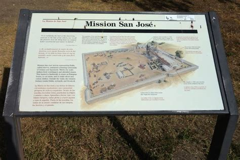 san jose mission map overview map of mission san jos 233 in san antonio