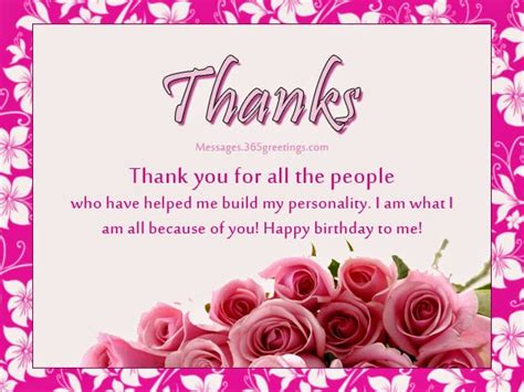 Thank You Card For Birthday Wishes All Wishes Message Greeting Card And Tex Message
