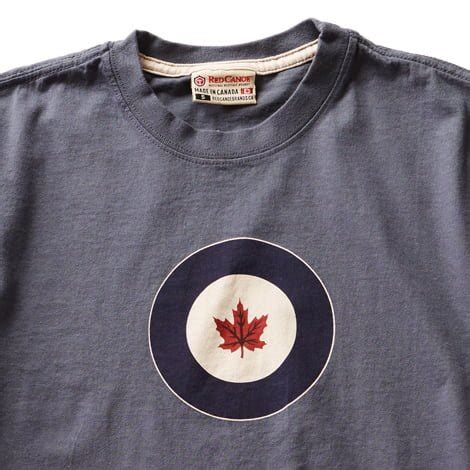T Shirt Air Canada rcaf t shirt washed blue canoe official site