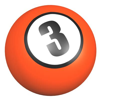 Three On A by Number 3 Png