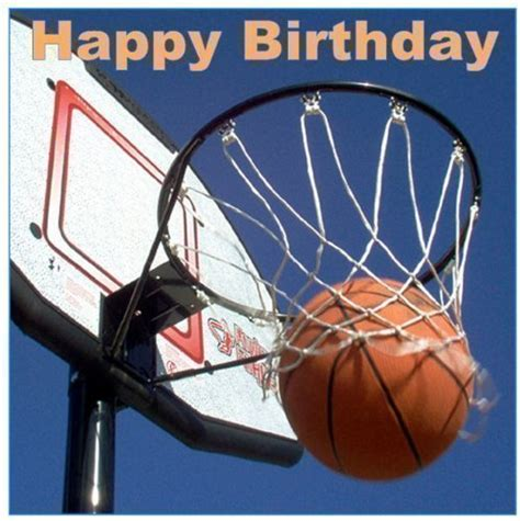 imagenes de happy birthday basketball buy basketball happy birthday square 7 5 quot cake topper