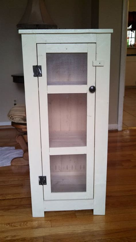 rustic wood homemade  jelly cabinet  pinterest