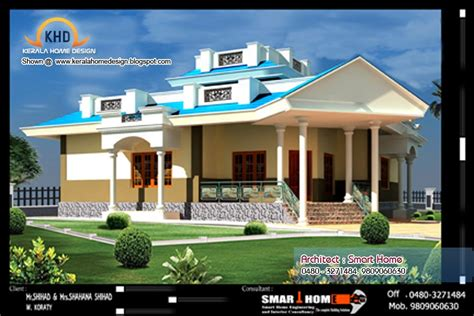 single floor house plan and elevation 1680 sq ft home single floor house plan and elevation 1680 sq ft
