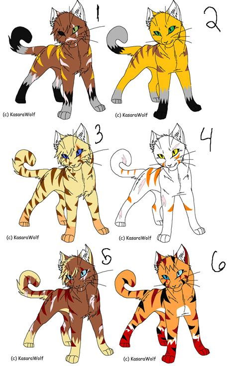 cat characters all warrior cats characters pictures to pin on pinsdaddy