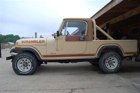 4 Door Jeep Scrambler Sell Used 1982 Jeep Scrambler Sl Sport Utility 2 Door 4 2l