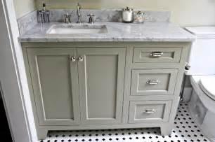 Bisque Kitchen Faucets White Carrara Marble Countertop Cottage Bathroom