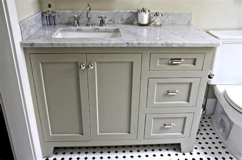 bathroom vanity hardware ideas white carrara marble countertop cottage bathroom
