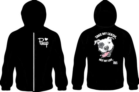 hoodies for pitbulls hoodie take my leash not my with logo