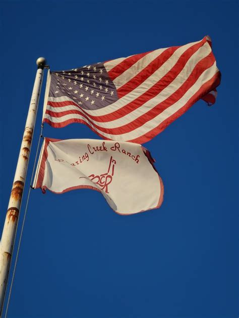 flag pole beavercreek farm conservation resource
