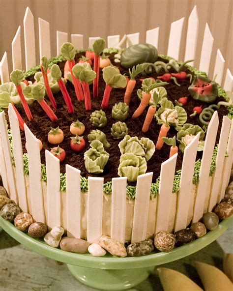 Spring Garden Cake Recipe Martha Stewart Martha Stewart Vegetable Garden