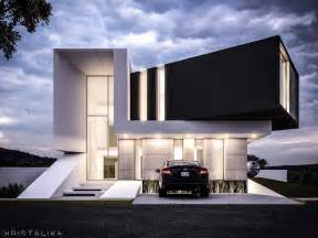 modern home design architects exle of stacked upper floor cayman pinterest
