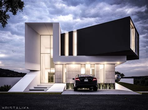 modern architecture homes exle of stacked floor https www aminkhoury
