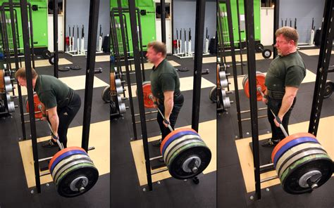Rack Pulls Or Deadlifts by The Mountain Dead Lifts 994 Pounds Gifs