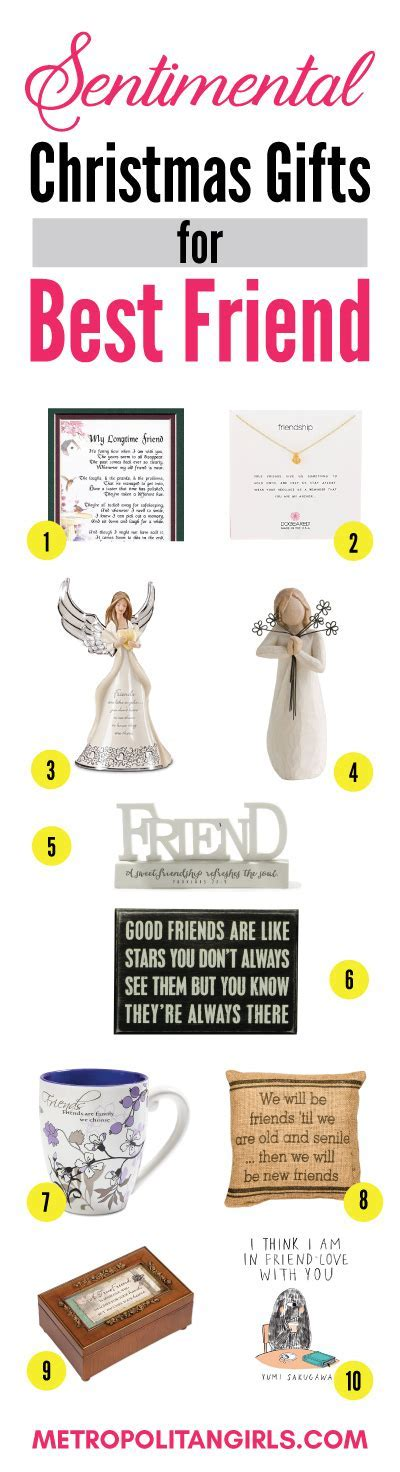 Christmas Gift Ideas for Best Friend 2018   Metropolitan Girls
