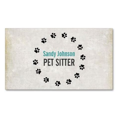 Pet Sitter Business Cards Templates by 23 Best Products I Images On Business