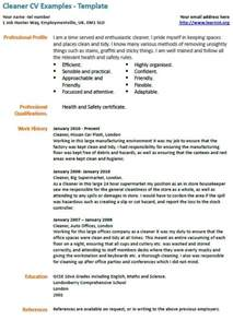 example of a janitorial resume 1