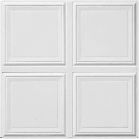 Armstrong Ceiling Tile 1201 raised panel homestyle ceilings coffered paintable 2 x 2