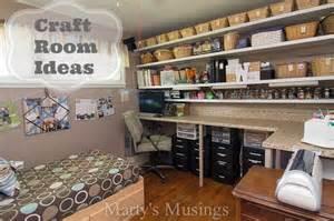 organizational for scrapbook room studio design