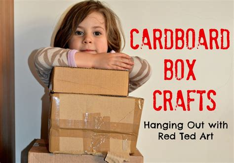 cardboard craft projects 20 cardboard box craft ideas ted s