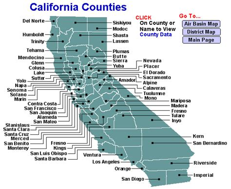california map divided by counties emissions by california county