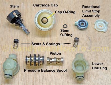 shower valve seats and springs how to replace delta shower faucet seats and springs