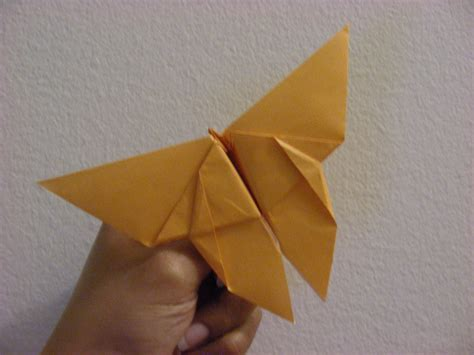 Real Origami - how to make an origami butterfly 183 cleverhumanity