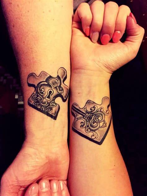 pinterest tattoo matching matching puzzle tattoo on couple wrist tattoo ideas