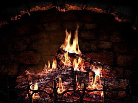 Burning Fireplace Screensaver by Element Screensaver