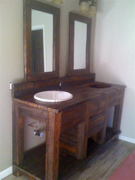 Barn Wood Vanity by 17 Best Images About Barn Wood Vanity On