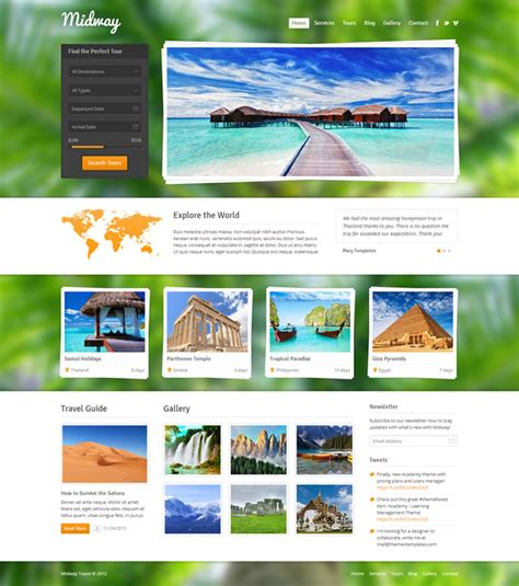 great premium travel wordpress themes webdesigner lab