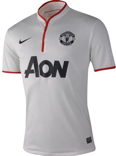 Kaos Bola Mu Kaos Bola Mu Manchester United Away Putih 2012 2013 Jersey Bola Grade Ori 2012 2013