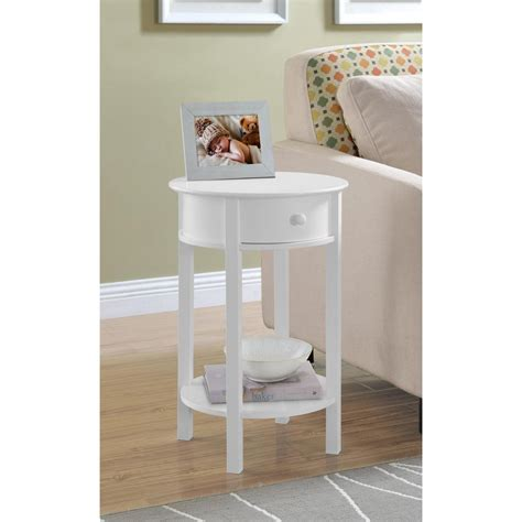 wall accent tables altra furniture tipton white end table 5055096pcom the home depot