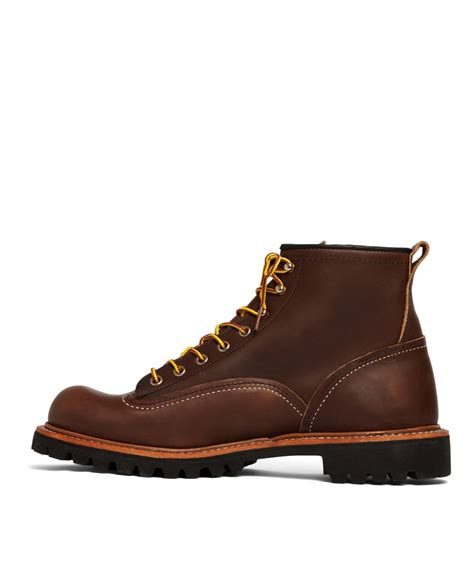 wing lineman boots lyst brothers wing for 2936 lineman boots in