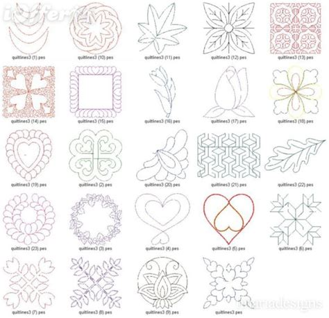 free embroidery templates 14 embroidery free machine quilting designs images free