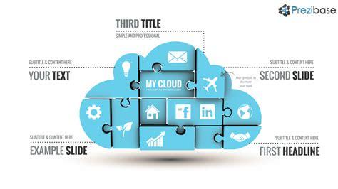 prezi puzzle template technology prezi templates collection prezibase