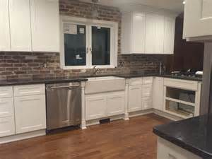 vintage kitchen backsplash thin brick tiles demystified reclaimed brick tile