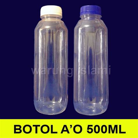 Botol Kaca 500 Ml jual botol madu sirup jus almond ao 500 ml harga murah bogor oleh ud warung islami