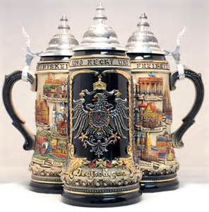 stein le rustic deutschland germany city with pewter eagle le