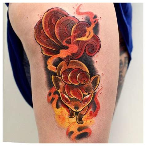 vulpix tattoo vulpix
