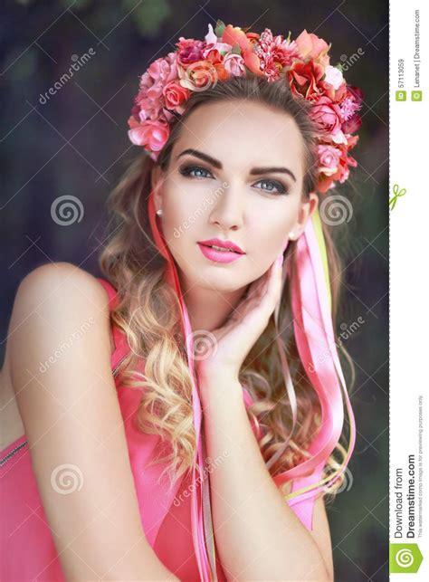 Halloween Wreath beautiful fairy stock photo image 57113059