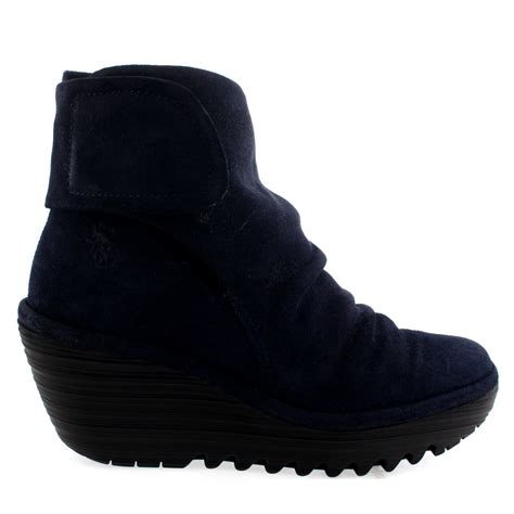fly yegi snow casual wedge shoes winter low