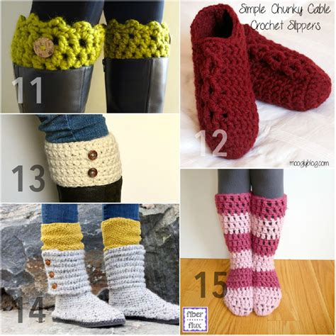 simple chunky cable crochet slippers 15 free chunky crochet patterns from to toe using