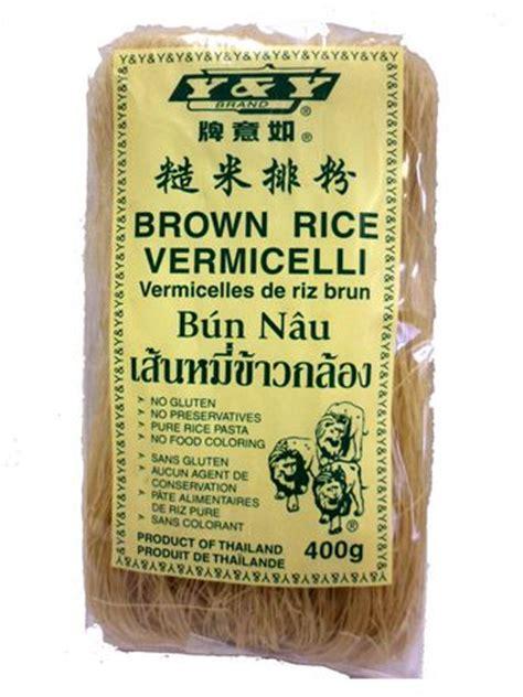 Organic Brown Rice Vermicelli y y brown rice vermicelli walmart ca