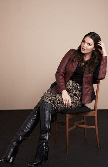 Found A City Chic Leather Coat by Style 101 Your Fall Plus Size Coats Fit And Style Guide