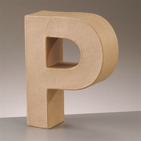 paper mache large cardboard letters signs 3d craft 17
